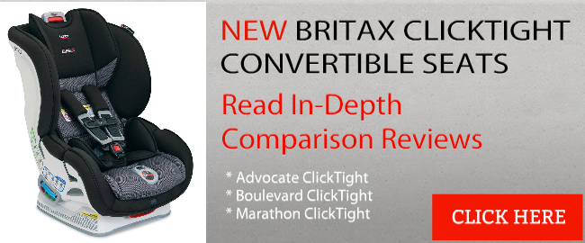 Britax ClickTight Convertible Car Seat Comparison Reviews Banner